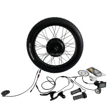Controller Built-in Motor!!! 48v1000w Fat Tire Electric Bicycle Conversion Kit with SW900 Display