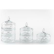 Third Layer Clear  Candy Jar