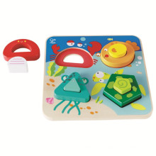 New Low Moq Children Toy Educational Wooden Children Jigsaw Puzzles