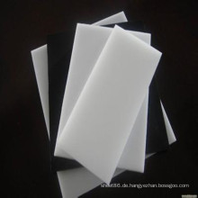 Weißes und schwarzes Pom-Blatt