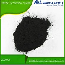 grado médico polvo de madera lavado carbón activado