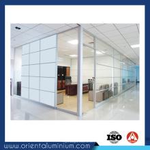 Venda quente perfil de alumínio de design novo para partição