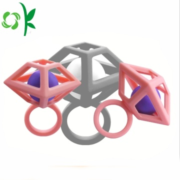 Unieke Design Silicone Ring Diamond Bead Trouwringen