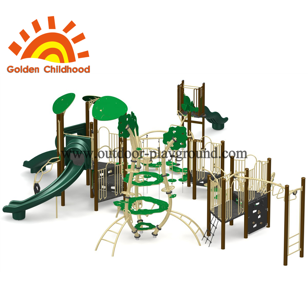 Forest Natural Multiplay Structure For Children