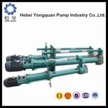 Pompe minière à suspension unique submergée électrique prix