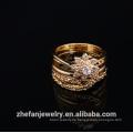Titan Hochzeit Band Unendlichkeit Engagement Quarz-Ring für Braut Rhodium vergoldet Schmuck ist Ihre gute Wahl