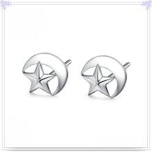 Boucles d'oreilles en argent et bijoux en or 925 en argent sterling (SE154)