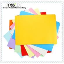Papier de copie couleur 110GSM A4 papier décalé Direct Factory