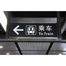 Flughafen-U-Bahn-öffentliche Plätze Sicherheits-Not-LED-Ausgangszeichen