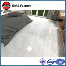 Polished porcelain floor tiles grey
