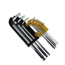 9 PCS Hexongal Key Wrench Set