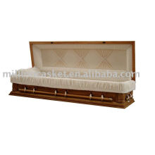 full couch wooden casket carton package