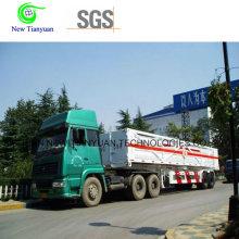 Полуприцеп для перевозки контейнеров с 10-метровым транспортером для транспортировки CNG Transportaion