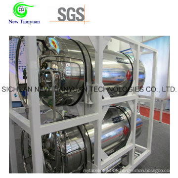 Heat-Insulated Cryogenic Cylinder for Vehicles Automobiles