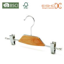 Metal Hanger for Pants Chrome Gripper Hanger (TB101)