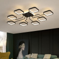Iluminação de teto rústica nivelada