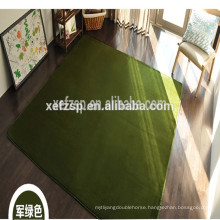 100% polyester microfiber indoor playground shower room mats long pile 100% polyester machine washable entrance mat