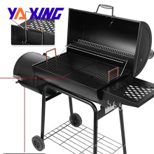 heavy-duty rust-resistant Iron Yaxing Offset Smoker with Barbecue Grill for outdoor