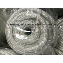Fibre de verre à corde avec forme ronde pour feu à haute température