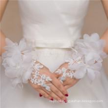 Lace appliques Brautzusatzqualitätsspitzedekorationhochzeitsspitzehandschuh