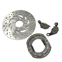 Motorcycle brake disc pad brake shoe set for NEX