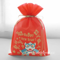 Bolsas de regalo de Lion Dance Red Happy New Year