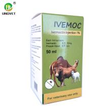 Injection d'ivermectine 10 ml 10 pour utilisation porcine