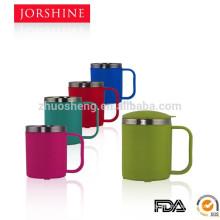 2015 colorful 220ml stainless steel coffee mug set