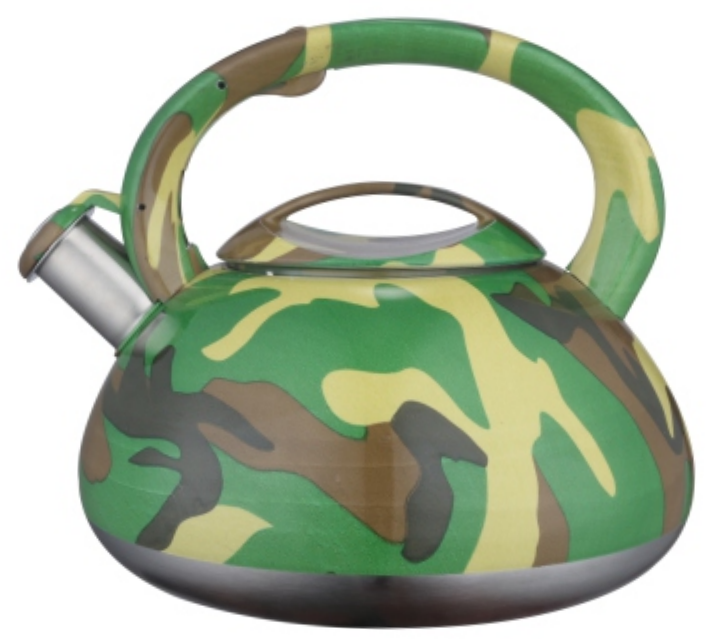 KHK059 3.5L color painting decal whistling teakettle