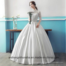 Elegant Chinese Style Stand Collar Wedding Dress