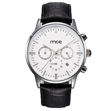 Classic Simple Custom Design Chronographe Qaurtz Homme Montres