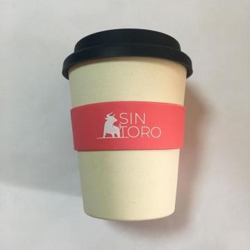 100% натуральная бамбуковая кофейная чашка многоразового использования