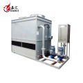 Geschlossener Rohrkühlturm aus Edelstahl