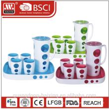 Высокий класс Тритан материал пластик цвет меняющейся чайник для воды