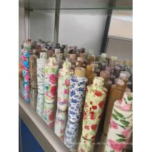 Kosmetische Haustier-Plastikflasche von Yuyao, China (hölzernes Muster)