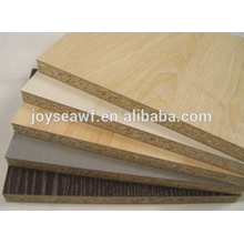 15x1220x2440MM melamine paper face/back chipboard/ particle board from Joy Sea