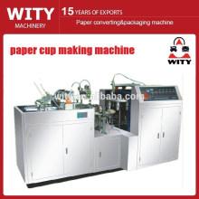 Machine de fabrication de tasses en papier PE simple
