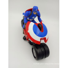 2.4GHz Captain America Mini Kids Motorcycle Two Wheels Electric Motorbike