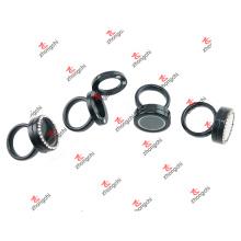 Bagues métalliques noires de mode pour cadeaux de noel (BLR51204)