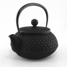 Japanese Cast Iron Teapots, Black, 0.55 Lt