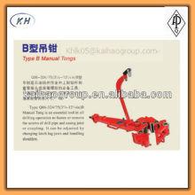Pinzas manuales de tipo B / pinzas manuales tipo B