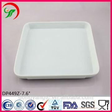 Assiette de banquet en porcelaine, assiettes en porcelaine, assiettes à dîner en porcelaine blanche pour usage quotidien