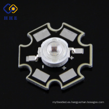 3W IR led 740nm 140 degree LED de alta potencia Diodo 1.8V