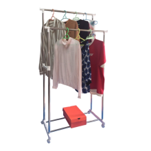 Stainless steel parallel bar type drying rack