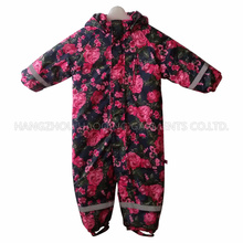Flower Sealant Children Conjoined Clothes/Overall