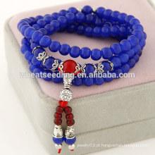 Sorte grânulos de moda multicamadas pulseiras 2014