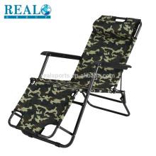 Novo Design Dobrável Cadeira De Aço Tubo Ajustável Fácil Cadeira Zero Gravidade