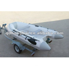casco de fibra de vidro pequeno novo CE RIB330 barco