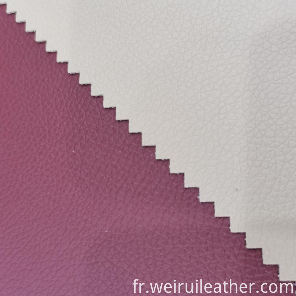 0 9mm Pvc Leather With French Terry