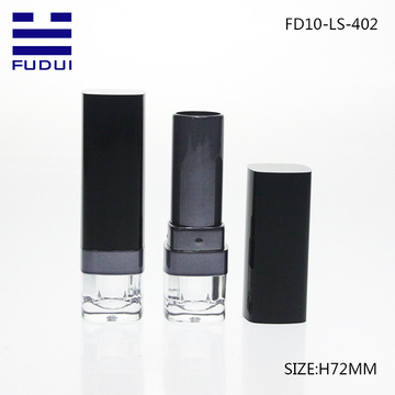 Unique design fashion square lip balm tube